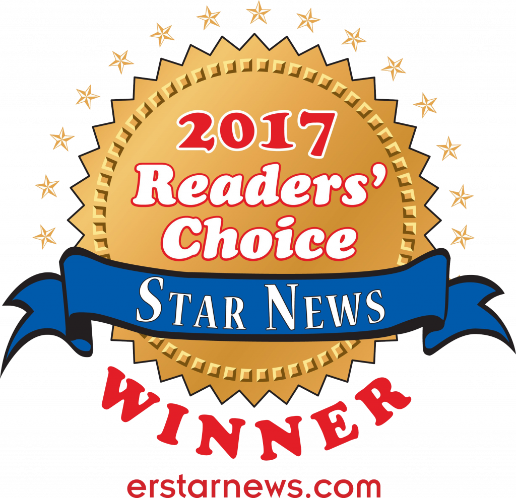 2017 Reader Choice logo